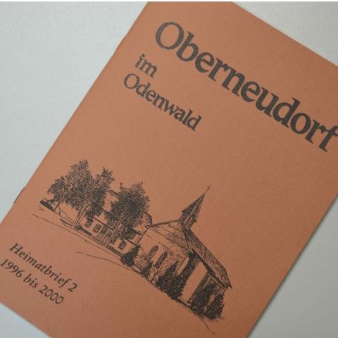 Oberneudorf im Odenwald Heimatbrief 2
