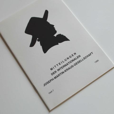 Mitteilungen der Internationalen Joseph Martin Kraus-Gesellschaft Heft 7