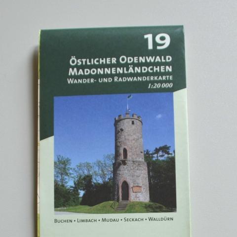 Wanderkarte Nr. 19 Östlicher Odenwald - Madonnenländchen