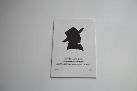 Mitteilungen der Internationalen Joseph Martin Kraus-Gesellschaft Heft 3