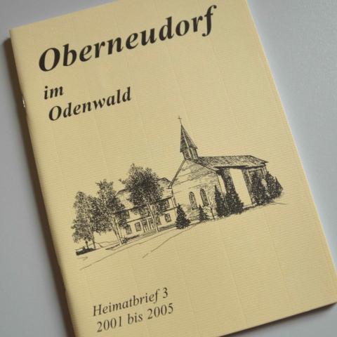 Oberneudorf im Odenwald Heimatbrief 3