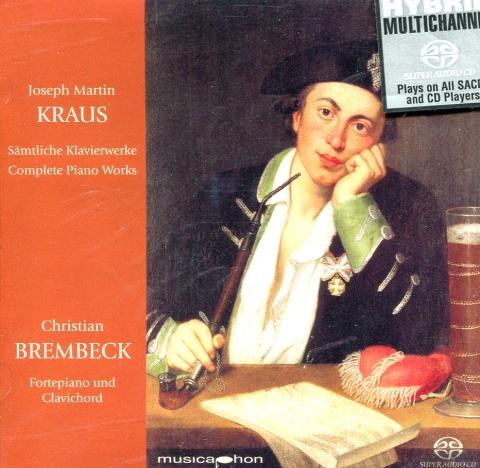 CD Joseph Martin Kraus - Sämtliche Klavierwerke