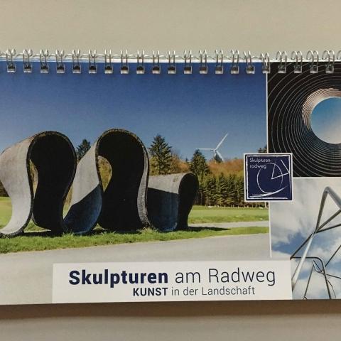 Skulpturenradweg Broschüre