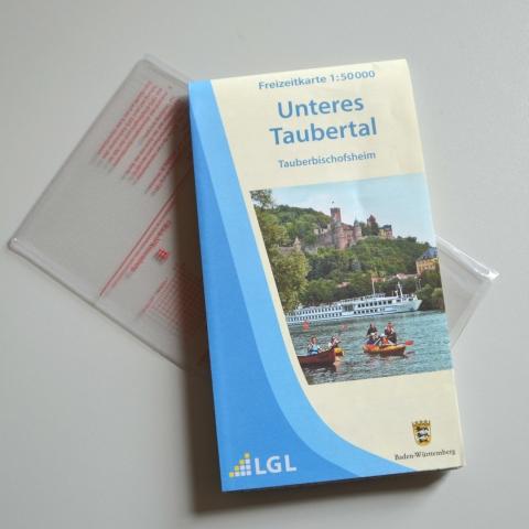 "Freizeitkarte ""Unteres Taubertal"""