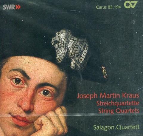 CD Joseph Martin Kraus - Streichquartette